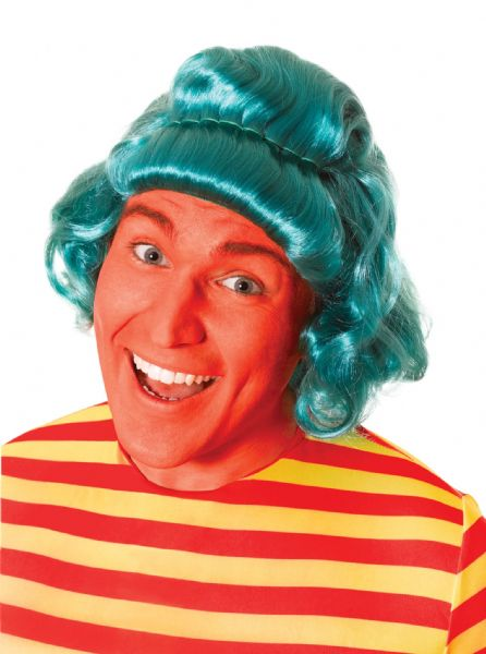Adults Lumpa Wig Umpa Wonka Midget Fancy Dress
